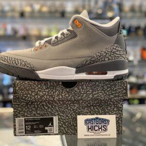 Jordan 3 Cool Grey Size 12