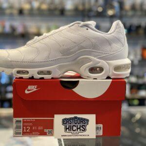 Nike Air Max Plus White Size 12