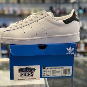 Adidas Stan Smith x Superstar White / Navy Size 11.5