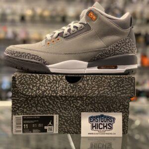 Jordan 3 Cool Grey Size 11