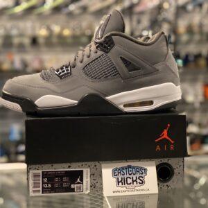 Preowned Jordan 4 Cool Grey Size 12