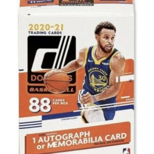 2020/21 Panini NBA Donruss Blaster Box (88 Cards)