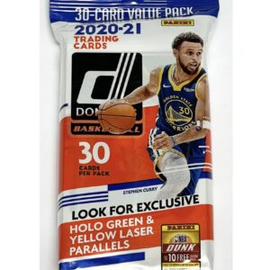 2020/21 Panini NBA Donruss Value Pack (30 Cards)
