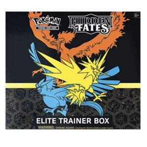 Pokemon Hidden Fates Elite Trainer Box (10 Booster Packs)