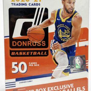 2020/21 Panini NBA Donruss Hanger Box (50 Cards)