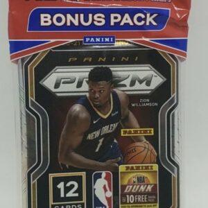 2020/21 Panini Orange Prizm Blister Pack (15 Cards)