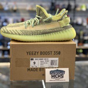 Preowned Adidas Yeezy 350 Yeezreel Size 9