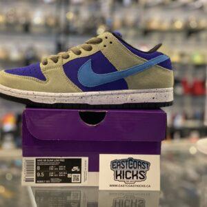 Nike SB Dunk Low Celadon Size 8