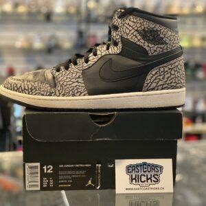 Preowned Jordan 1 High Un-Supreme Size 12