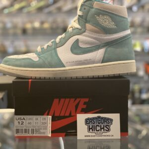 Preowned Jordan 1 High Turbo Green Size 12