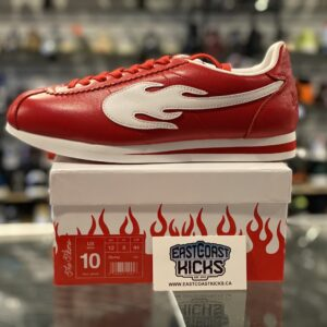 YG 4Hunnid The Flame Red Size 10