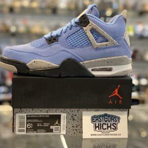 Jordan 4 University Blue Size 6.5Y