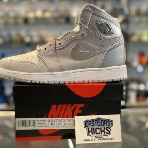 Jordan 1 High Japan Neutral Grey Size 6.5Y