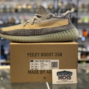 Preowned Adidas Yeezy 350 Ash Blue Size 11