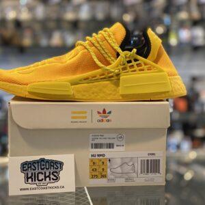 Adidas NMD Hu Yellow Size 9.5
