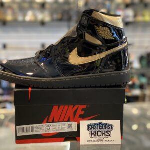 Jordan 1 High Black Metallic Size 12