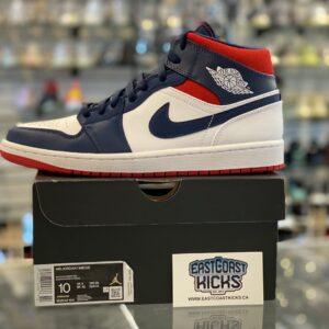 Jordan 1 Mid USA Size 10