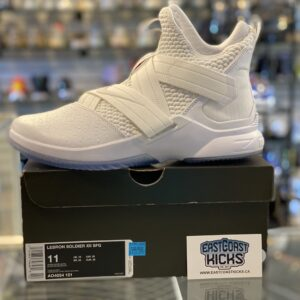Nike LeBron 12 Soldier White Size 11