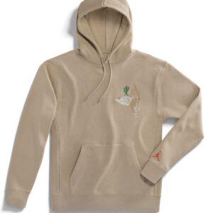 Jordan x Travis Scott Cactus Jack Hoodie Khaki Size M
